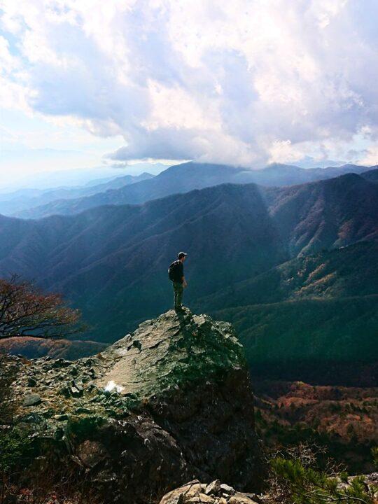 乾徳山登山レポ 楽しさが詰まったお得な山!