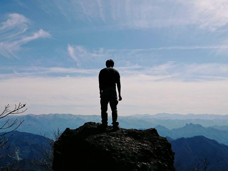 妙義山(金洞山上級コース)登山!恐怖の鎖場「鷹戻し」ピストン