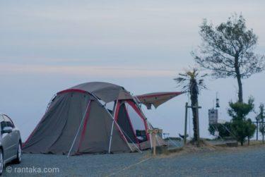 夕日ヶ丘キャンプ場2019年春 海が見える南伊豆の絶景キャンプ場
